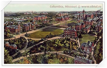Columbia, Missouri : Oras infratit cu Sibiu