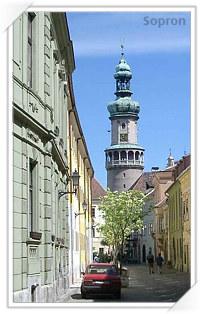 Sopron, oras din Ungaria infratit cu Sibiu