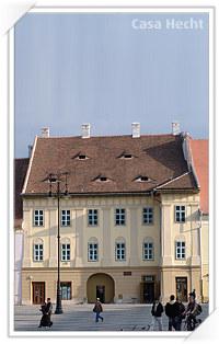 Casa Hecht din Sibiu, Piata Mare Nr 8