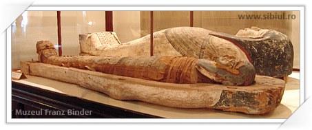 Mumia Egipteana din Muzeul Franz Binder Sibiu