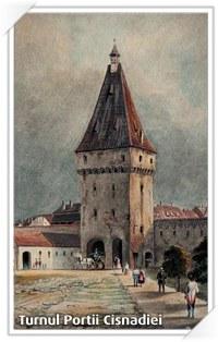 Sibiu: Turnul Portii Cisnadiei
