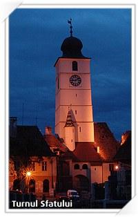Sibiu: Turnul Sfatului, Piata Mica