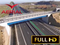 Autostrada A1 / AERIAL VIDEO / Lotul 1 (km 0 - 24)