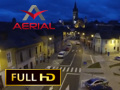 Sibiu by night (preview) / Aerial Video