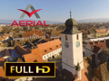 Turnul Sfatului din Sibiu (Aerial Video)