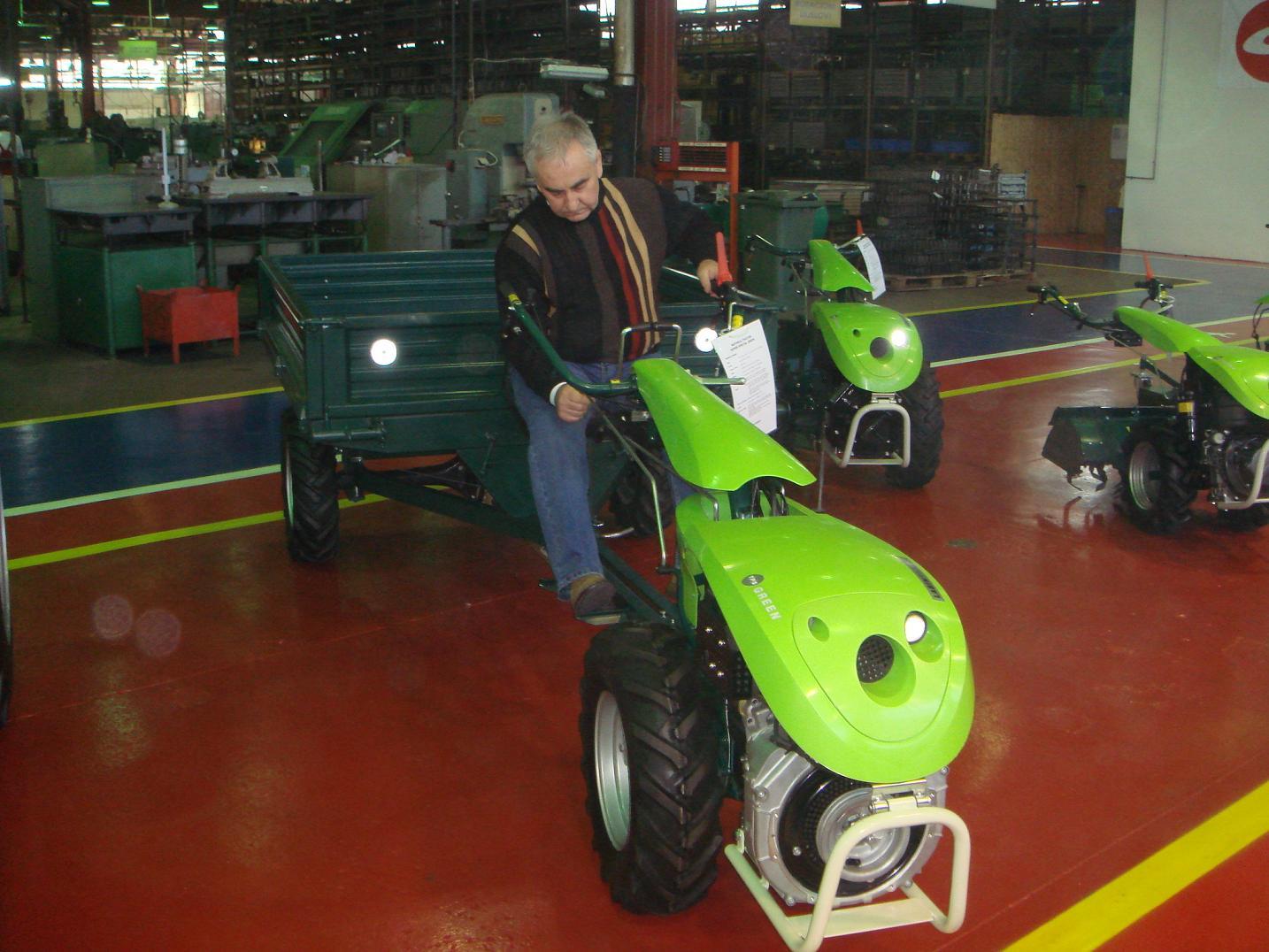 Motocultoare dotate cu motoare Lombardini