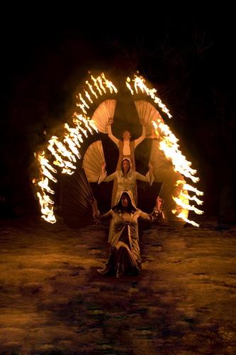 Festival Magic Show - Fire Mistery