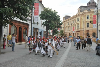 Parada festivalul national al traditiilor populare Sibiu 2009