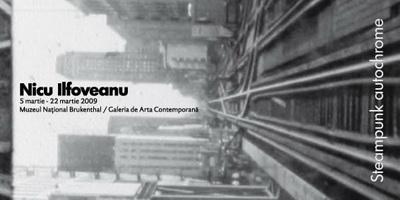 Expozitia Steampunk Autochrome Nicu Ilfoveanu la Sibiu