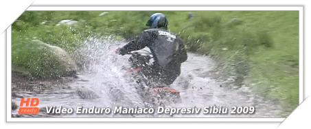 Video HD Enduro Maniaco Depresiv Sibiu 2009